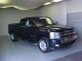 2008 Dark Blue Metallic Chevrolet Silverado 1500 LT Extended Cab #31080282