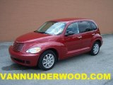 2007 Inferno Red Crystal Pearl Chrysler PT Cruiser Touring #31079489