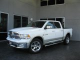 2010 Stone White Dodge Ram 1500 Laramie Crew Cab 4x4 #31079493