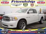2010 Stone White Dodge Ram 1500 Sport Quad Cab 4x4 #31079525