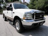 2003 Oxford White Ford F250 Super Duty Lariat SuperCab 4x4 #31080010