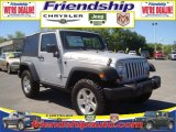 2010 Bright Silver Metallic Jeep Wrangler Rubicon 4x4 #31079541