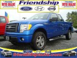 2010 Blue Flame Metallic Ford F150 STX SuperCab 4x4 #31079567