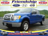 2010 Blue Flame Metallic Ford F150 XLT SuperCab 4x4 #31079572