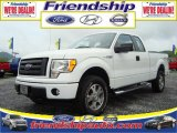 2010 Oxford White Ford F150 STX SuperCab 4x4 #31079573