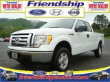 2010 Oxford White Ford F150 XLT SuperCab 4x4 #31079575