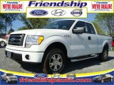 2010 Oxford White Ford F150 STX SuperCab 4x4 #31079577