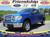 2010 Blue Flame Metallic Ford F150 XLT SuperCab 4x4 #31079584