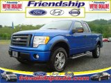 2010 Blue Flame Metallic Ford F150 XLT SuperCab 4x4 #31079586