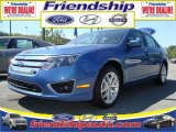 2010 Sport Blue Metallic Ford Fusion SEL V6 #31079589