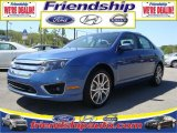 2010 Sport Blue Metallic Ford Fusion SE V6 #31079590