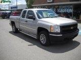 2008 Silver Birch Metallic Chevrolet Silverado 1500 Work Truck Extended Cab #31080029