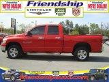 2006 Flame Red Dodge Ram 1500 SLT Quad Cab 4x4 #31079821