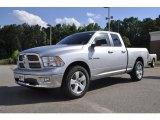 2010 Bright Silver Metallic Dodge Ram 1500 Big Horn Quad Cab #31080043