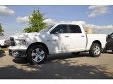 2010 Stone White Dodge Ram 1500 Big Horn Crew Cab 4x4 #31080044