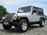Bright Silver Metallic Jeep Wrangler in 2006