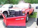 2010 Vermillion Red Ford F350 Super Duty XL Regular Cab 4x4 #31079885