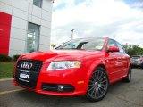 2008 Brilliant Red Audi A4 3.2 Quattro S-Line Sedan #31080139
