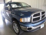2005 Atlantic Blue Pearl Dodge Ram 1500 SLT Quad Cab 4x4 #31145441