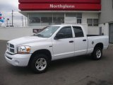 2006 Bright White Dodge Ram 1500 Sport Quad Cab 4x4 #3092862