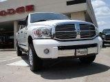 2008 Bright White Dodge Ram 1500 Laramie Mega Cab 4x4 #31145450