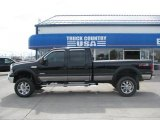 2005 Black Ford F350 Super Duty Lariat Crew Cab 4x4 #31145466