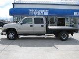 2002 Light Pewter Metallic Chevrolet Silverado 3500 LT Crew Cab 4x4 Dually #31145468