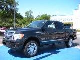 2010 Tuxedo Black Ford F150 Platinum SuperCrew 4x4 #31145031