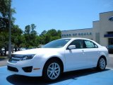 2010 White Platinum Tri-coat Metallic Ford Fusion SEL V6 #31145034