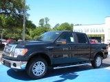 2010 Tuxedo Black Ford F150 Lariat SuperCrew #31145035