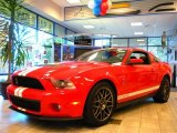 2011 Race Red Ford Mustang Shelby GT500 SVT Performance Package Coupe #31145038