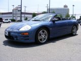 2003 Flash Blue Pearl Mitsubishi Eclipse Spyder GTS #31145481