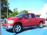 2008 Sunburst Orange Pearl Dodge Ram 1500 Big Horn Edition Quad Cab #31145039
