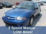 2003 Arrival Blue Metallic Chevrolet Cavalier Sedan #31144840