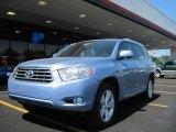 2010 Wave Line Blue Pearl Toyota Highlander Limited #31145298
