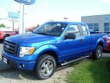 2010 Blue Flame Metallic Ford F150 STX SuperCab 4x4 #31145051