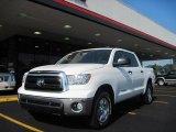 2010 Super White Toyota Tundra TRD CrewMax #31145306