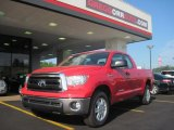 2010 Radiant Red Toyota Tundra Double Cab #31145309