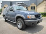 Medium Wedgewood Blue Metallic Ford Explorer in 2000