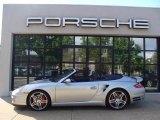 2008 Arctic Silver Metallic Porsche 911 Turbo Cabriolet #31145649