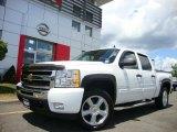 2009 Summit White Chevrolet Silverado 1500 LT Crew Cab 4x4 #31204410