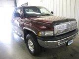 2001 Dark Garnet Red Pearl Dodge Ram 1500 SLT Club Cab 4x4 #31204604