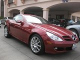 2005 Mercedes-Benz SLK Firemist Red Metallic