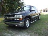 2002 Onyx Black Chevrolet Silverado 1500 LS Extended Cab 4x4 #31204492