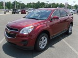 2010 Cardinal Red Metallic Chevrolet Equinox LT #31204667