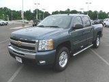 2010 Blue Granite Metallic Chevrolet Silverado 1500 LT Crew Cab 4x4 #31204669