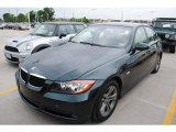 2008 Deep Green Metallic BMW 3 Series 328i Sedan #31204546