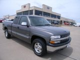 2000 Charcoal Gray Metallic Chevrolet Silverado 1500 LS Extended Cab 4x4 #31204681