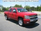 2010 Victory Red Chevrolet Silverado 1500 LT Crew Cab #31204687