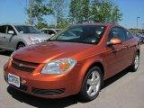 2007 Sunburst Orange Metallic Chevrolet Cobalt LT Coupe #31204785